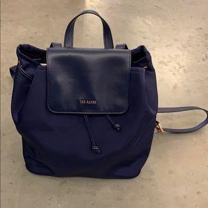 76f57d5548ec5 Navy Ted Baker backpack